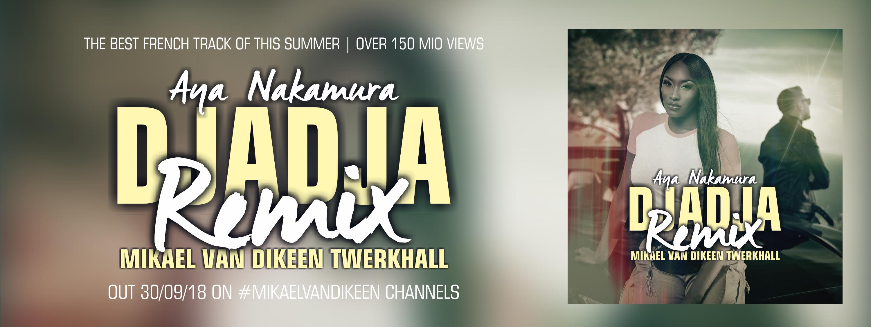 Aya Nakamura - Djadja (Mikael van Dikeen Twerkhall Remix) - banner head