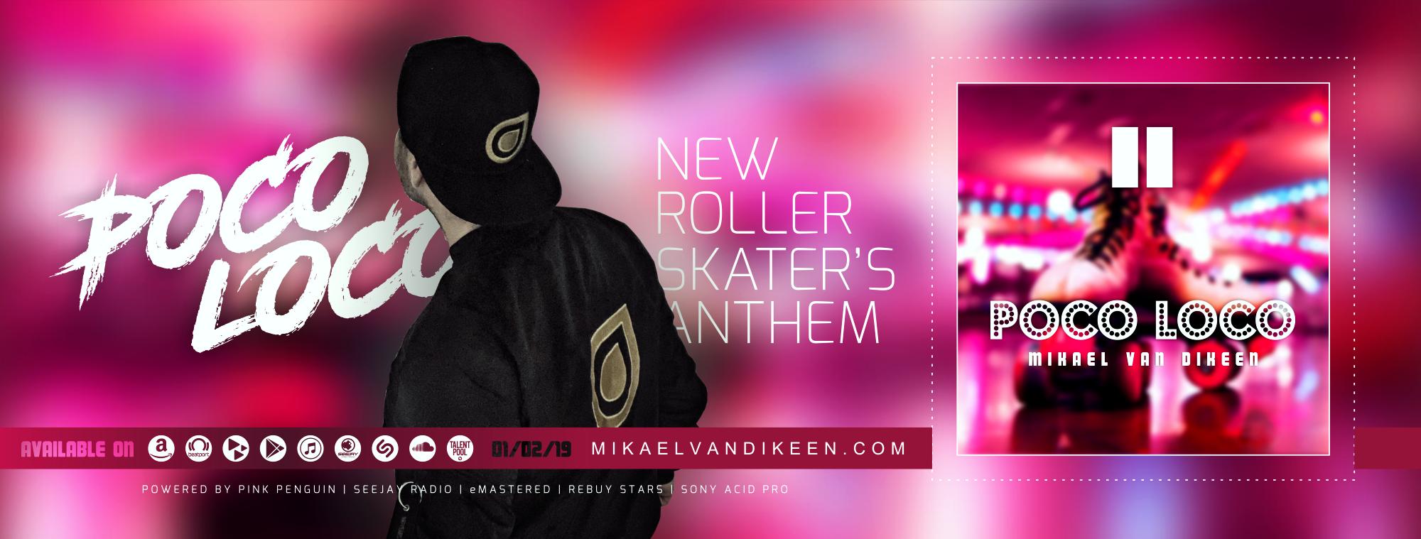 Mikael van Dikeen - Poco Loco - head web - banner