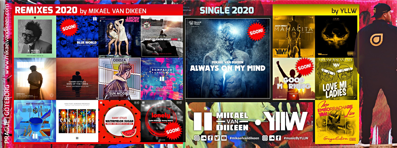 Mikael van Dikeen - YLLW - DJ - music producer - music recap 2020